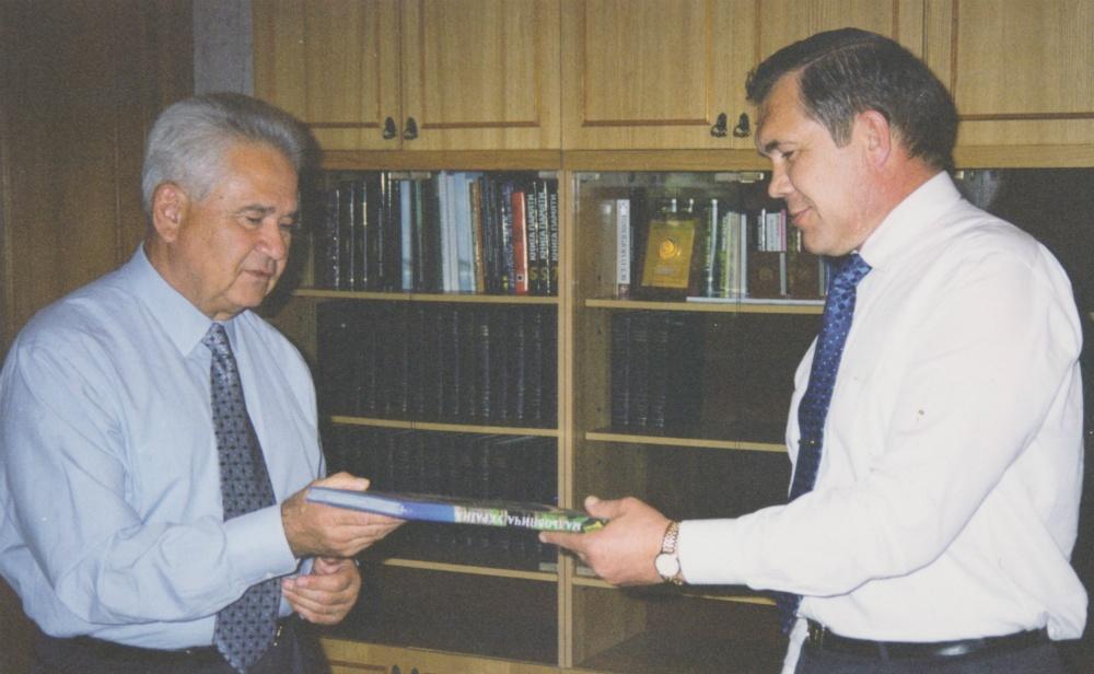 Витольд Фокин и Александр Лебедь.