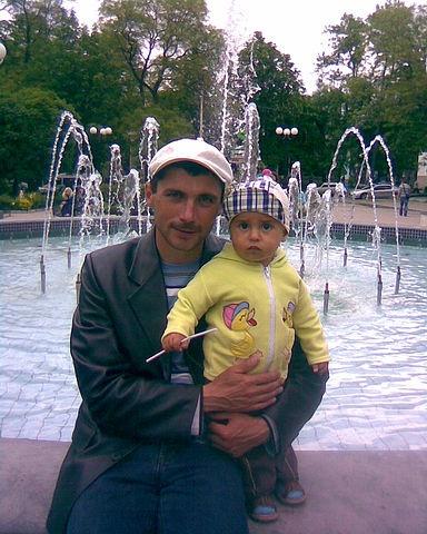Решат Аметов с сыном, 2010 год. Фото: Reshat Ametov / Одноклассники