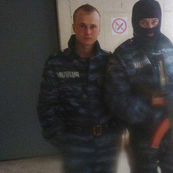 Николай Козлов в форме