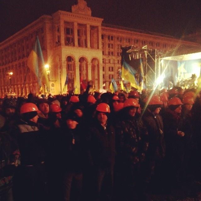 Мозаика декабрьской революции в Украине