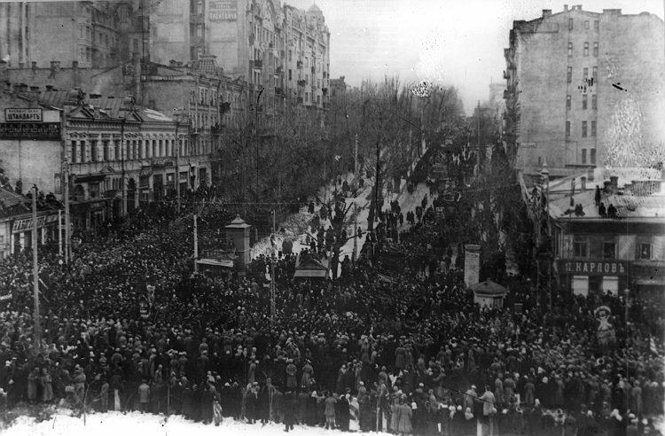 1917 и 2014 гг. Революция на Украине: судьба церкви и общества