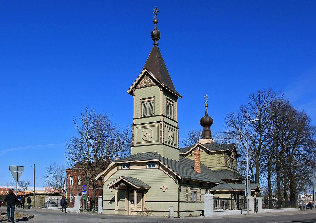 Кафедральный собор Симеона и Анны в Таллинне, относится к ЭАПЦ. Фото: wikipedia.org
