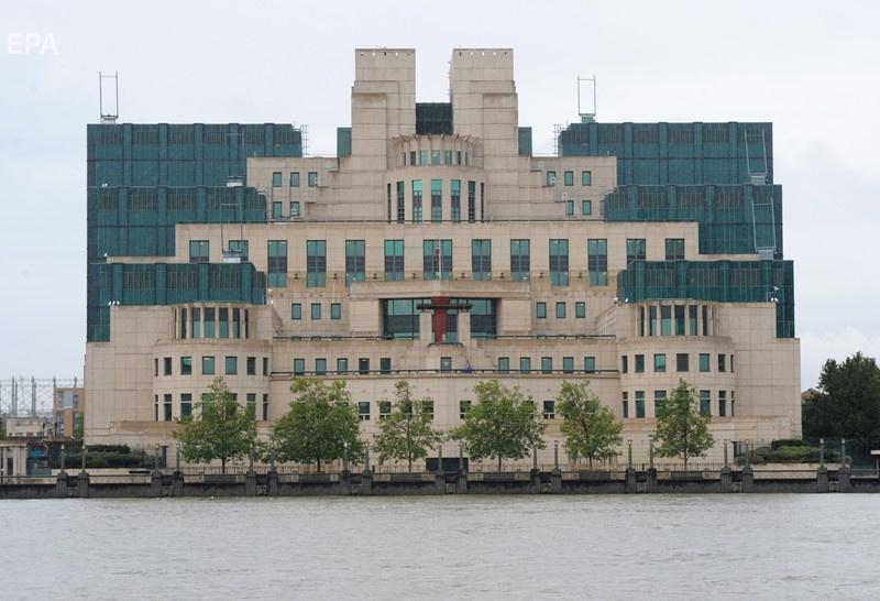 Штаб-квартира британской разведки в Лондоне. Фото: ЕРА