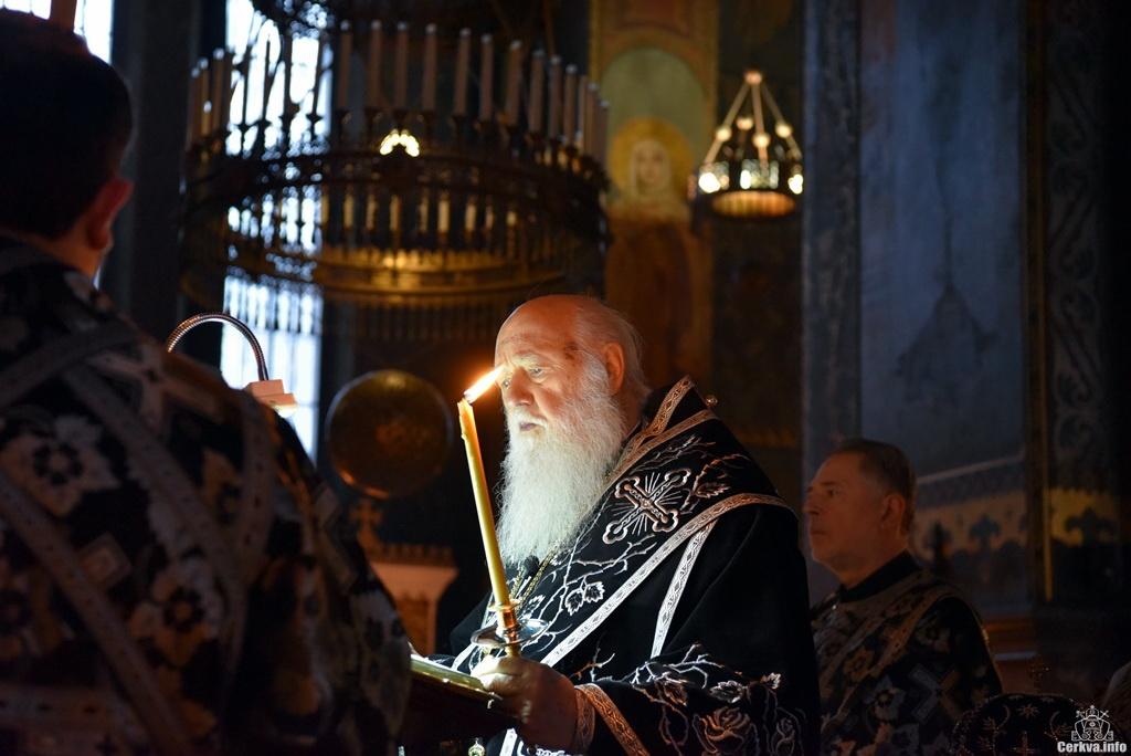 Патриарх Филарет в 2008 году отказался от предложения включить УПЦ КП в состав Константинопольского патриархата на правах автономии. Фото: cerkva.info