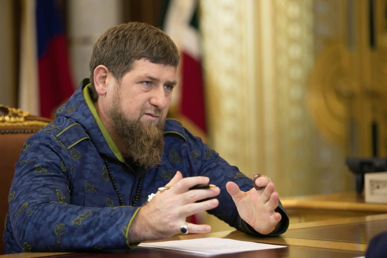 """Кадыров требовал наказать тех, кто распространял фейки о количестве погибших в Кемерово. Фото: Рамзан Кадыров / """"ВКонтакте"""""""