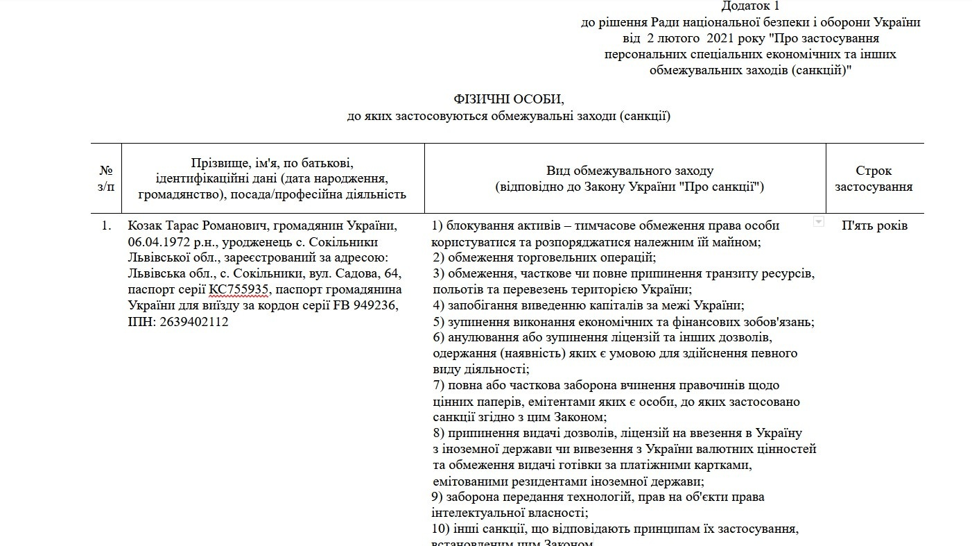 Скриншот: president.gov.ua