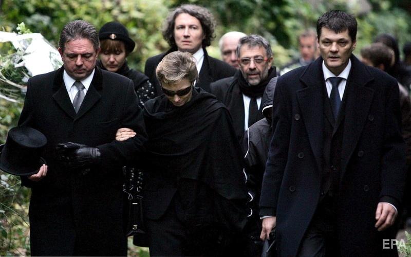 7 декабря 2006 года. Похороны Александра Литвиненко. Фото: ЕРА