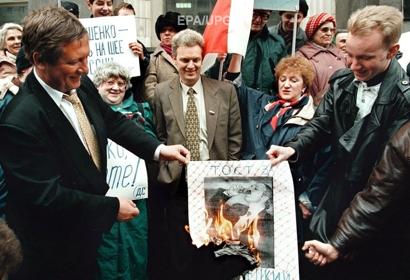 1997 год. Боровой и его коллеги по российскому