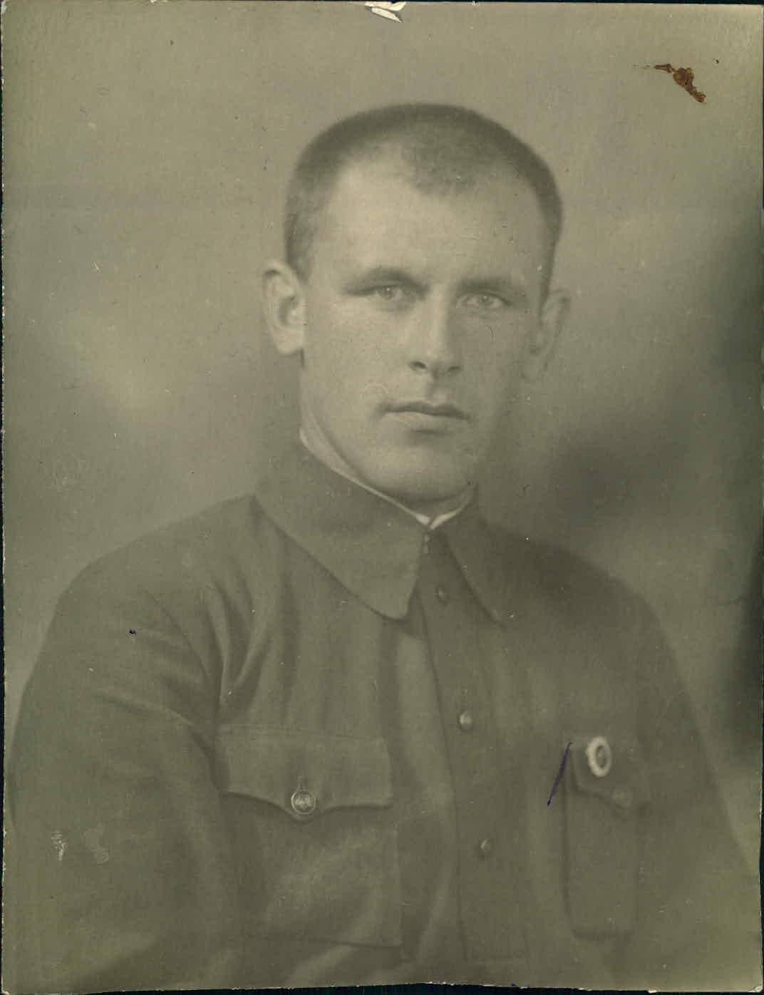 Бабичев Петр Иванович. Фото из фондов Отраслевого государственного архива СБУ