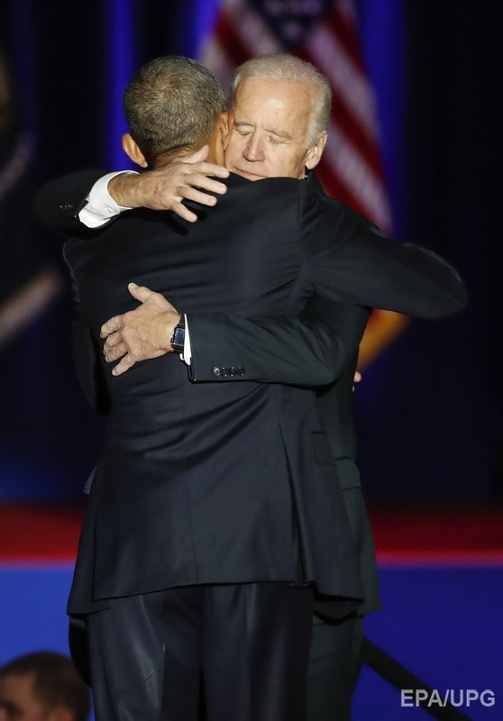 Обама – Байдену: Ты – один из самых больших подарков моей жизни. Фото: ЕРА