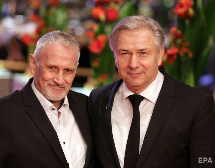 Воверайт и Кубицки на церемонии открытия 66-го Берлинского кинофестиваля Фото: EPA