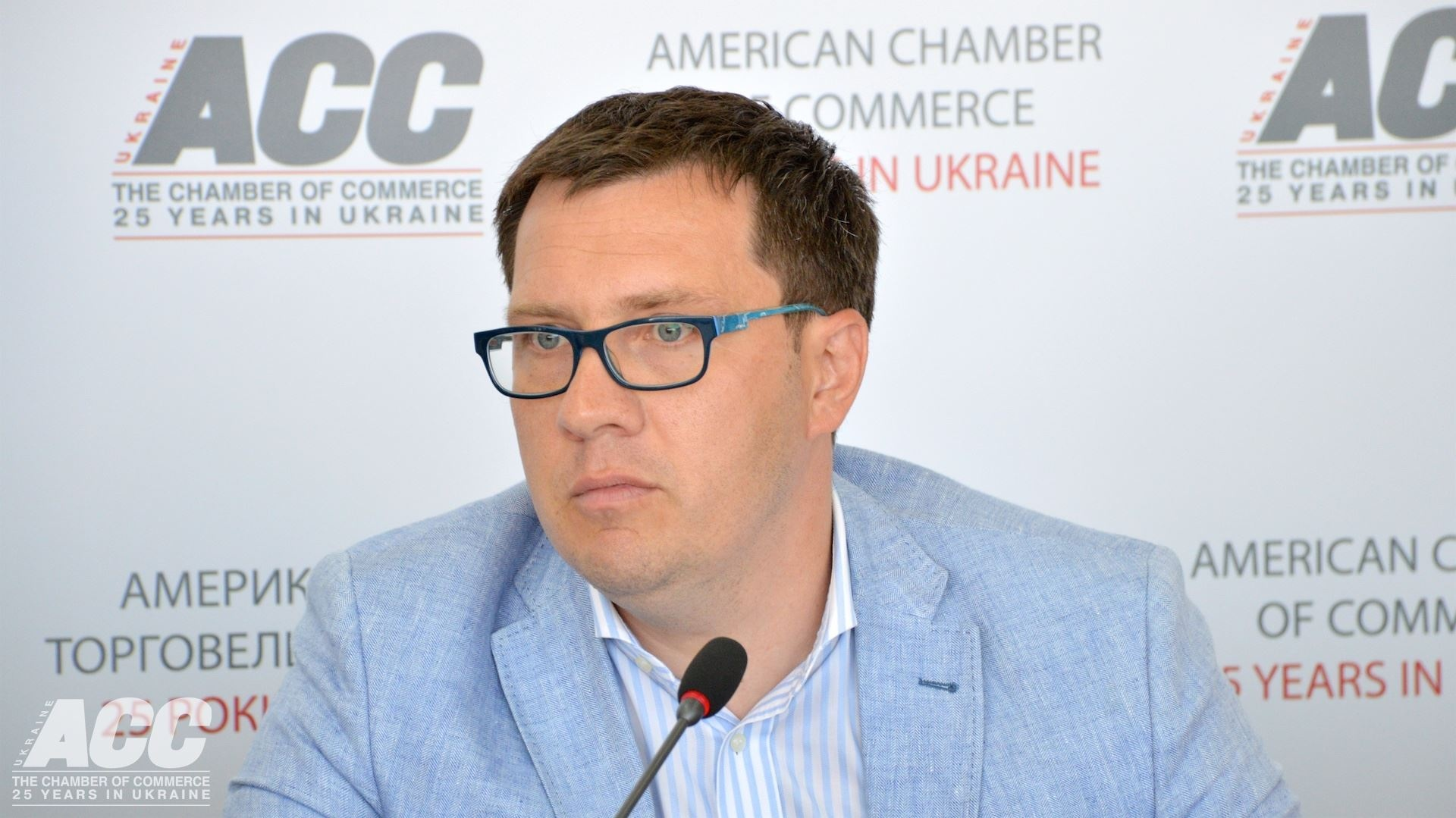 По мнению Сергея Вовка, трудовые мигранты переориентируются на другие виды транспорта. Фото: American Chamber of Commerce in Ukraine / Facebook