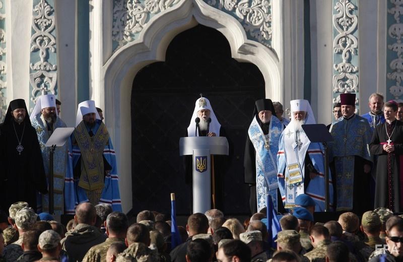 В УПЦ КП хотят, чтобы поместную церковь возглавил Филарет. Фото: EPA