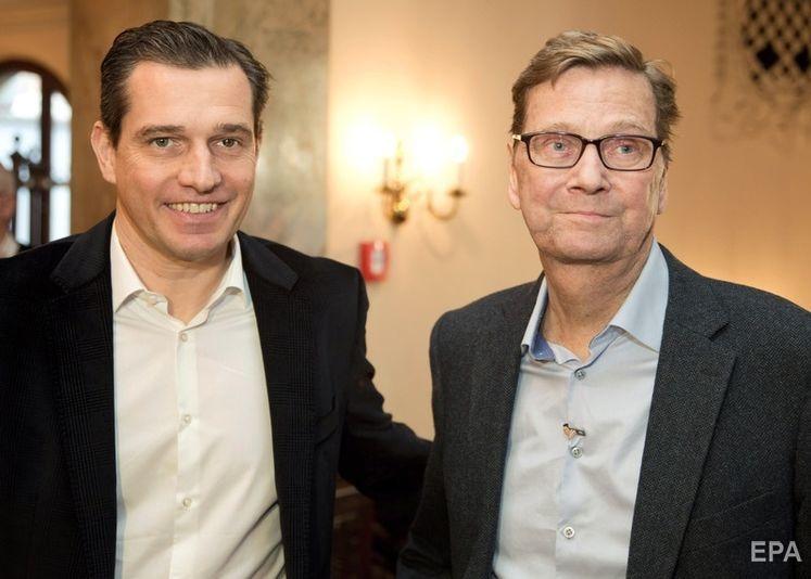 Мронц (слева) и Вестервелле в ноябре 2016 года. Фото: EPA