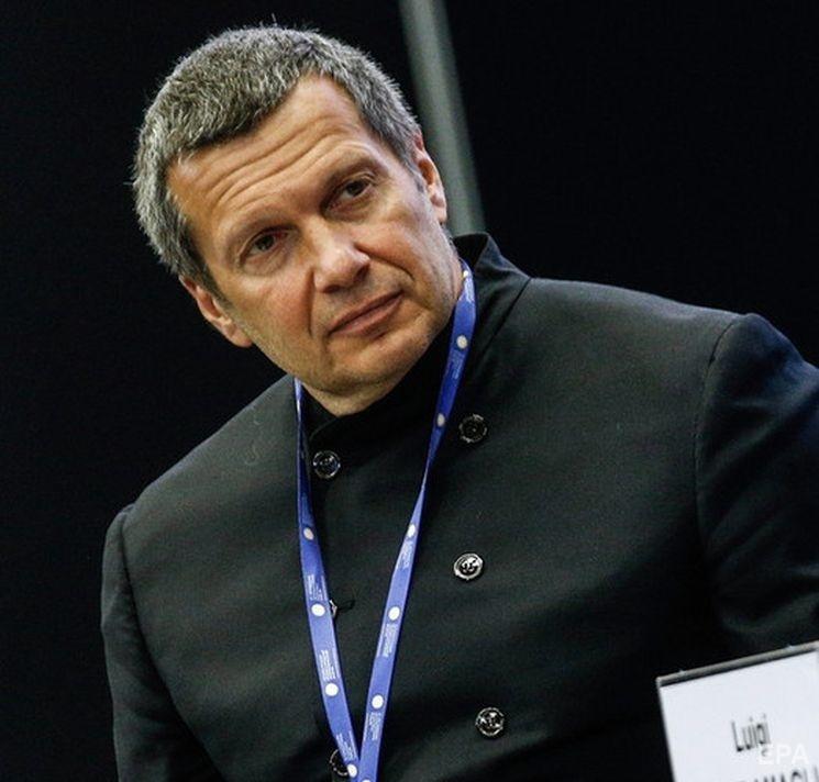 Российский пропагандист Владимир Соловьев. Фото: EPA
