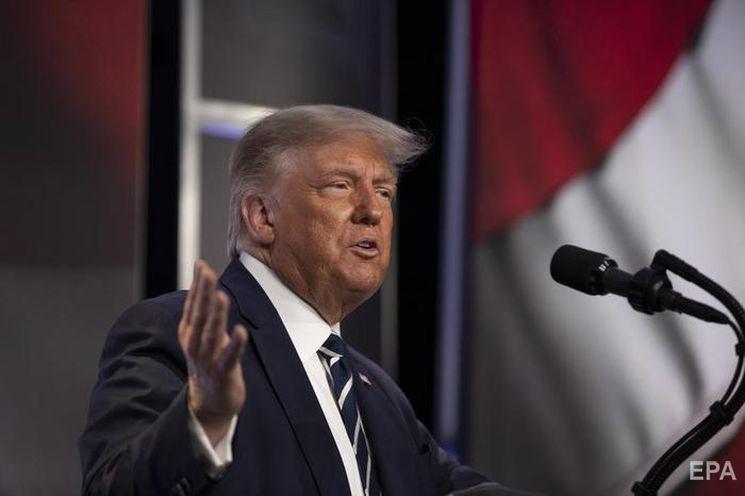 Трамп заявив, що був здивований номінування Харріс на пост віце-президента. Фото: EPA