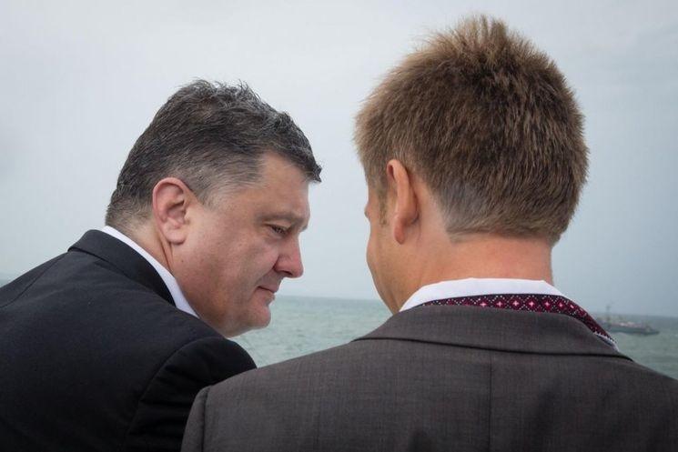 Сейчас Гончаренко состоит в партии Порошенко. Фото: Олексій Гончаренко / Facebook