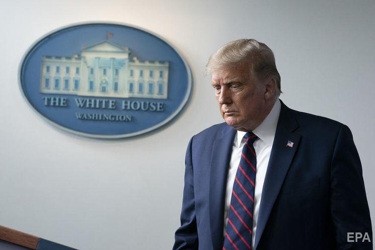 Трамп баллотируется на второй срок. Фото: EPA