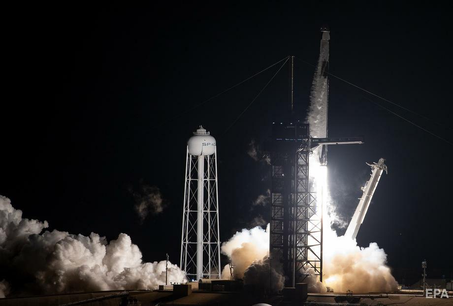 Запуском українського супутника може зайнятися компанія SpaceX. Фото: EPA