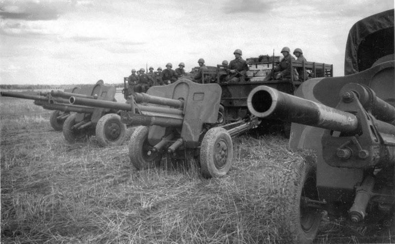 Противотанковая артиллерия РККА. Фото: mtdata.ru