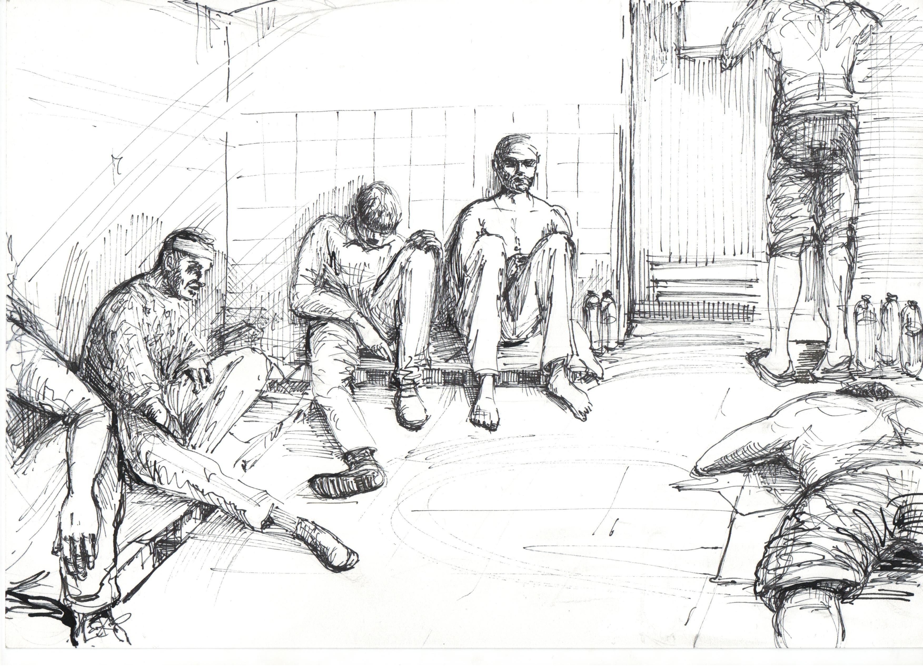 Рисунки японских пыток 4 фотография