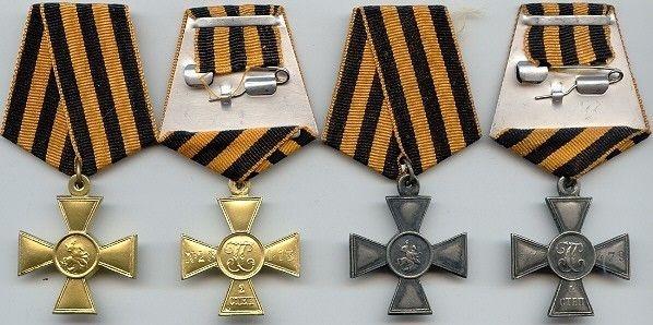 Георгиевский крест – одна из самых почитаемых наград в Российской империи. Фото: