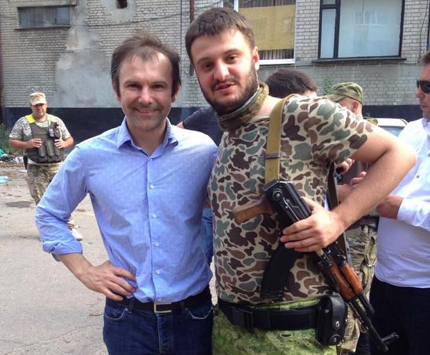 Александр Аваков и Святослав Вакарчук. Фото: Alex Avakov / Facebook