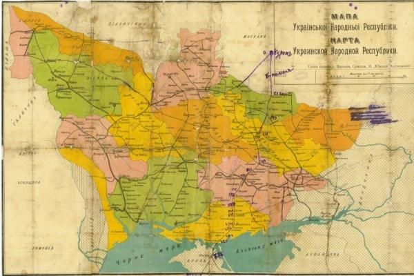 Украина в 1919 г.