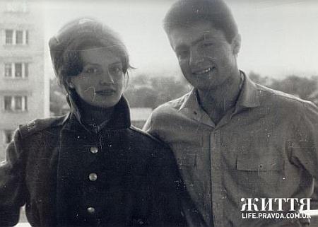 Марина и Петр в молодости. Фото: life.pravda.com.ua