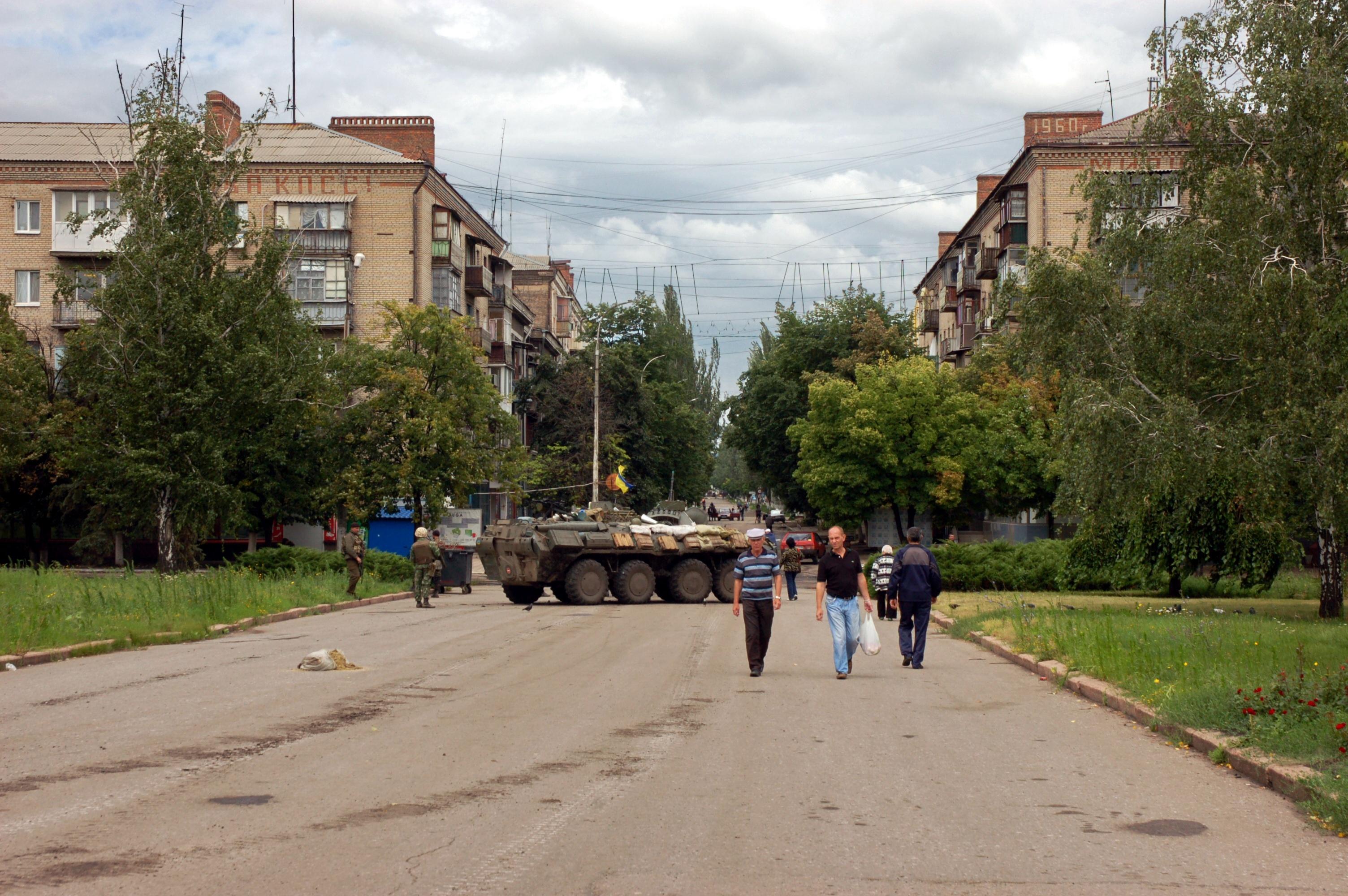 Улицы Славянска. Фото: Анн Гин