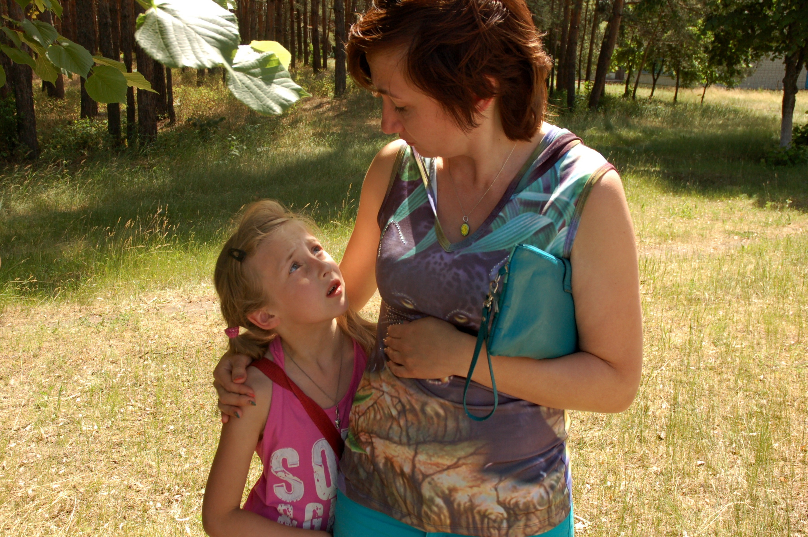 Тетя обучает племянника семейной жизни