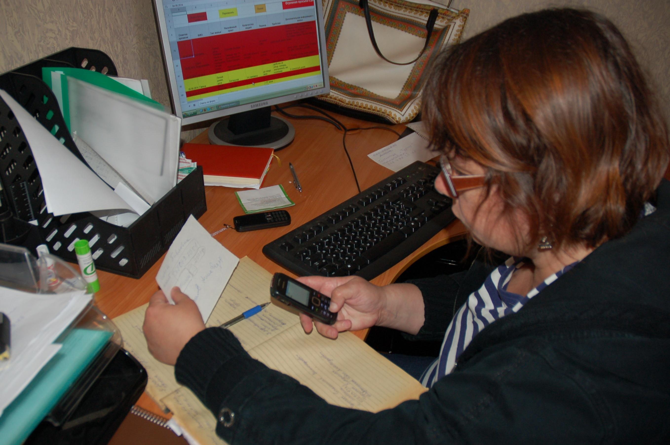 Волонтер Инна Ачкасова ежедневно решает десятки чужих проблем: находит людям дом и работу