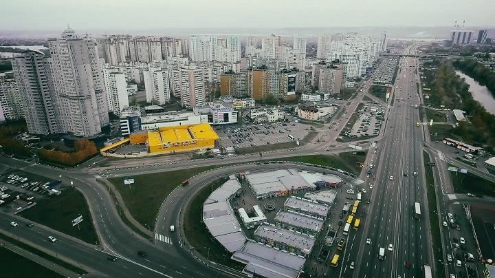 Киев, микрорайон