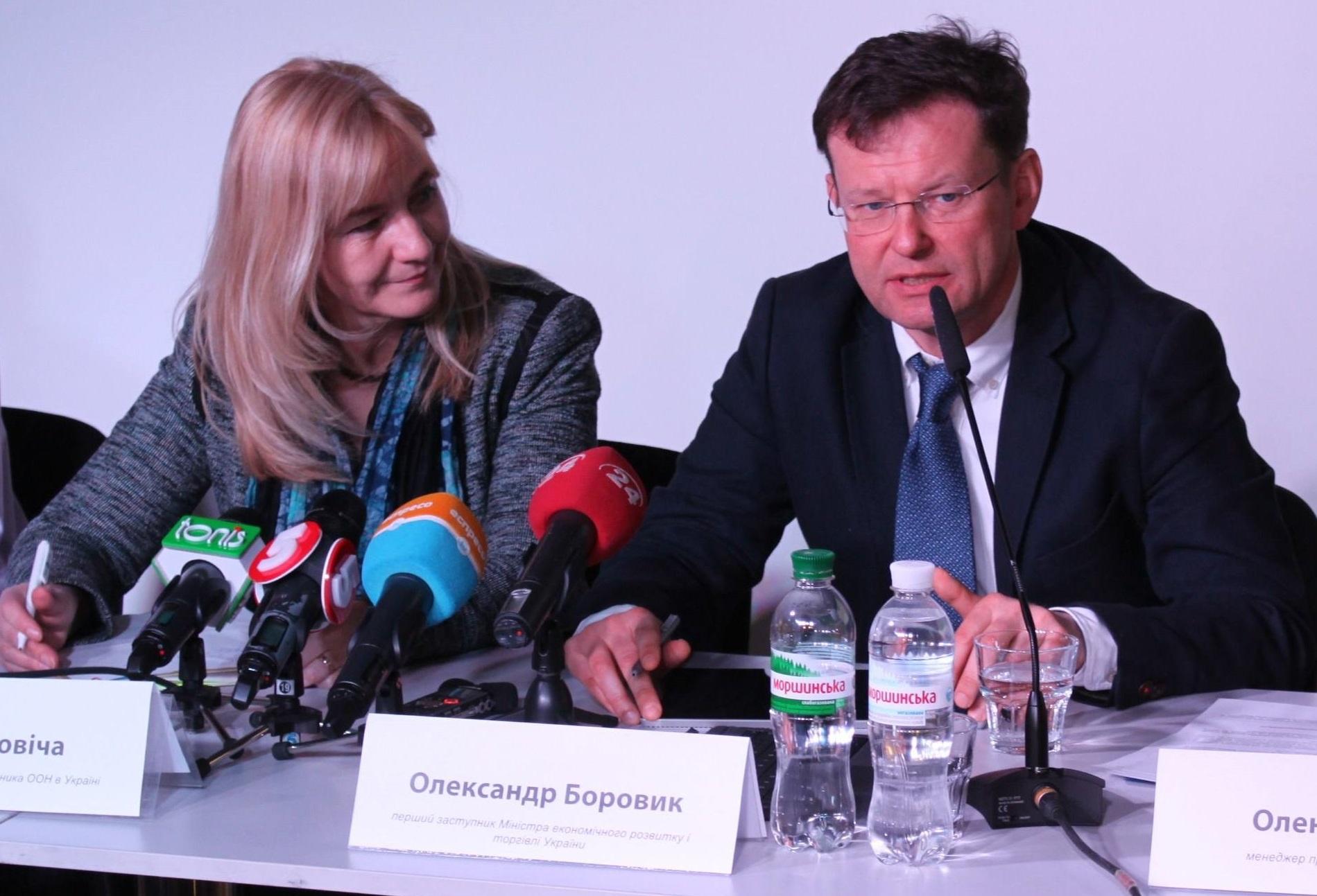 """Боровик: Абромавичус писал по электронной почте: """"Не общайся с прессой, не общайся с иностранцами. За твоими действиями следят"""". Это очень странно, ведь я отвечаю за донорские программы, за инвестиционный климат, стратегию, работу с иностранными организациями. Фото: United Nations Development Programme Ukraine / undp.org.ua"""