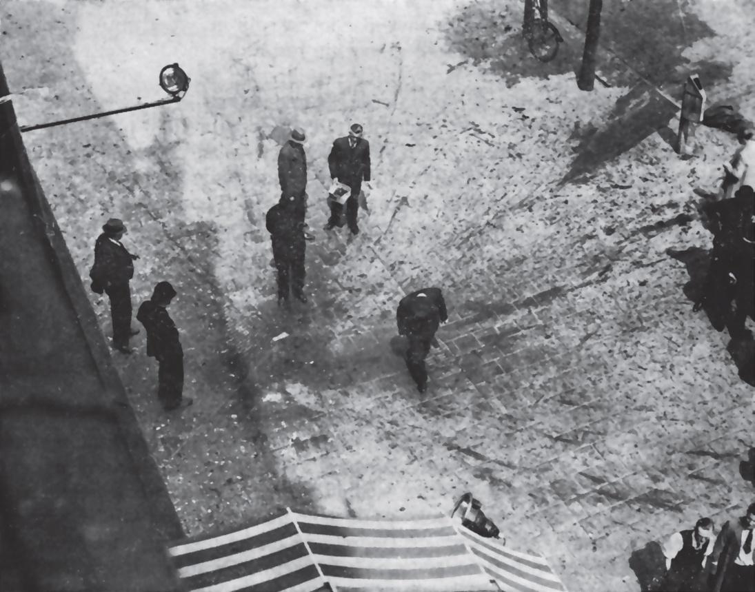 Место гибели Коновальца. Фото: Архив Центра исследований освободительного движения