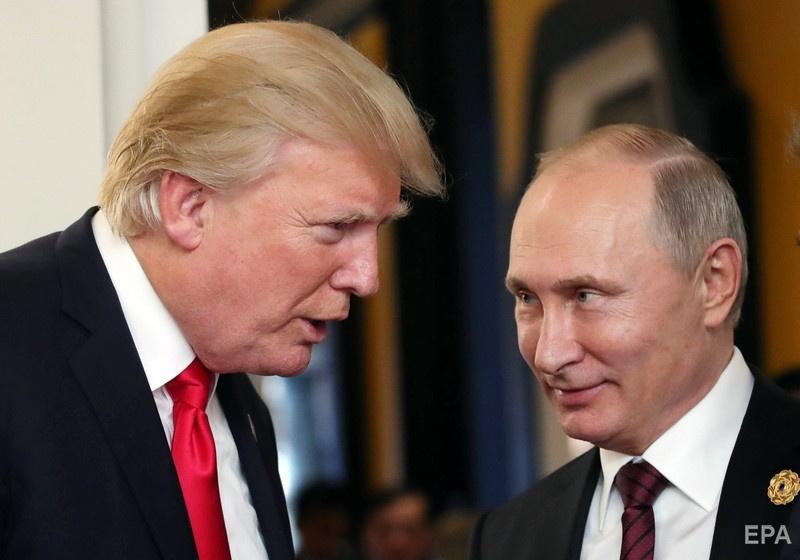 Дональд Трамп и Владимир Путин. Фото: ЕРА