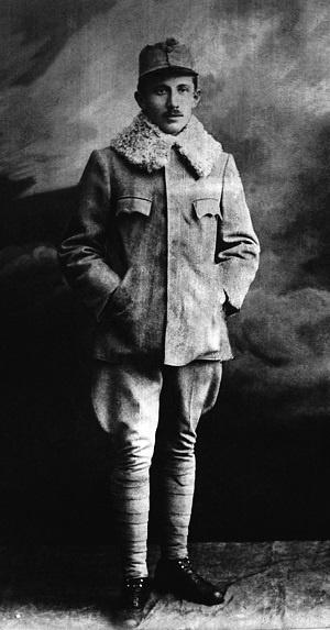 Коновалец в лагере для военнопленных возле Царицыно, Россия. 1916–1917 годы. Фото: Архив Центра исследований освободительного движения