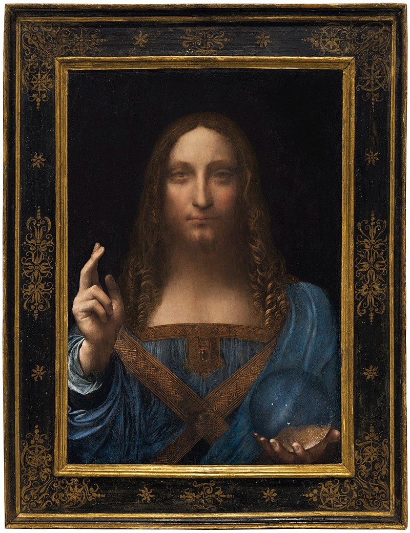 "Картина Лонардо Давинчи ""Спаситель мира"". Фото: wikipedia.org"