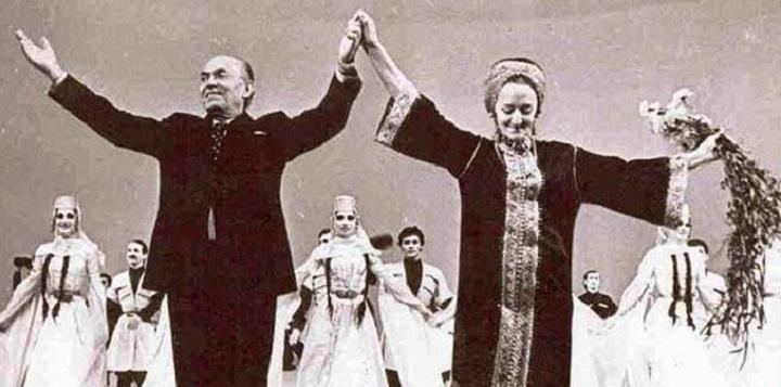 Основатели балета Илико Сухишвили и Нино Рамишвили. Фото: tkt.ge