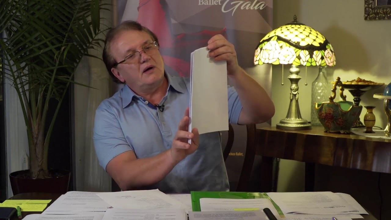 Москалев. Скриншот видео: Олег Б. ютуб