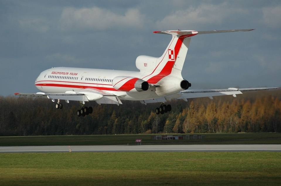 польский самолет