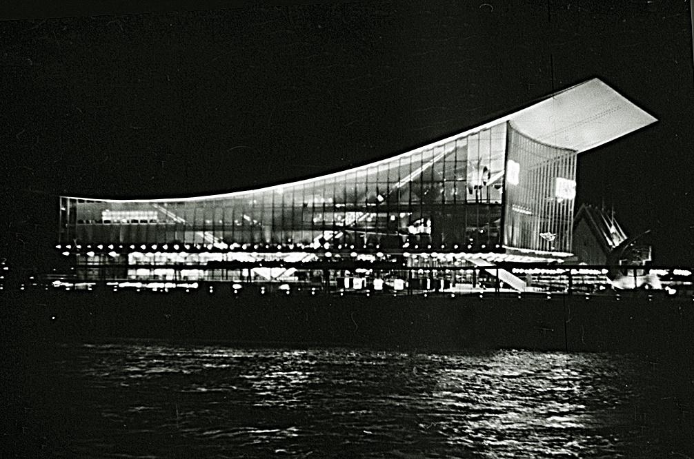 Советский павильон на выставке Экспо-67 в Канаде. Фото: Витольд Муратов