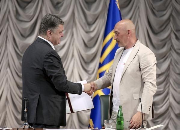 Тука: Фото: twitter.com / Poroshenko
