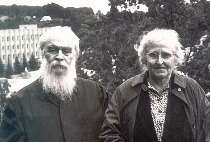 Отец Александр Киселев с матушкой Каллистой