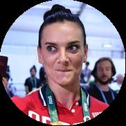 Елена Исинбаева, легкоатлетка, двукратная олимпийская чемпионка: