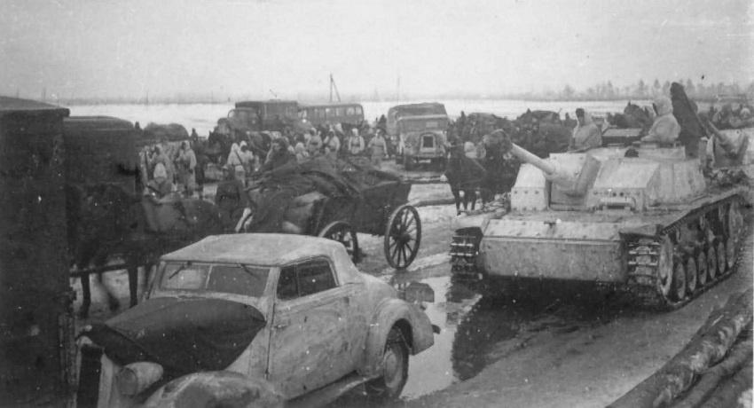 Отступление немцев. Весна 1944 года. Фото: reibert.info