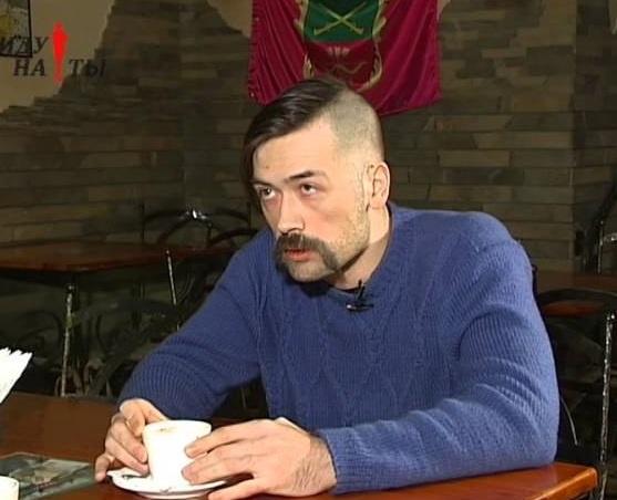 Пашинин: Я специально говорю по-русски. Хочу, чтобы меня услышали те россияне, которые еще не живут жизнью зомби. Фото: Tezis.tv
