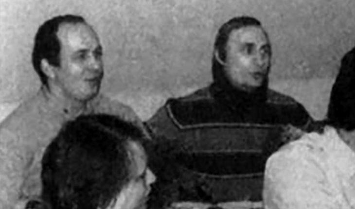 Чемезов и Путин в ГДР. Фото: uznayvse.ru