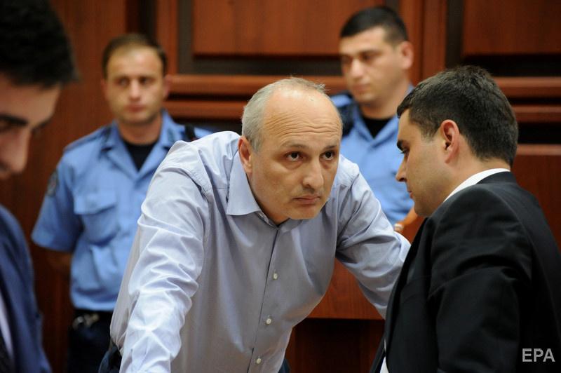 Май 2013 года. Мерабившили на одном из первых после задержания заседаний суда. Фото: Irakli Gedenidze / ЕРА