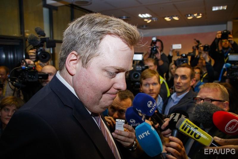 Сигмундур Гуннлейгссон. Фото: EPA